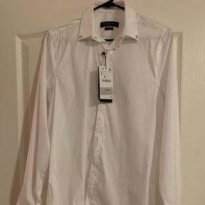 Zara Shirts - ZARA STRETCH SHIRT WITH CUFFS